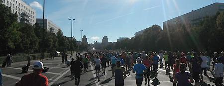viele Läufer, viele Motivationsmöglichkeiten